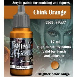 Scalecolor Fantasy And Games Chink Orange SFG-37