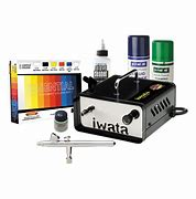 Airbrushes Iwata Modeller Airbrush Kit with Ninja Jet Compressor