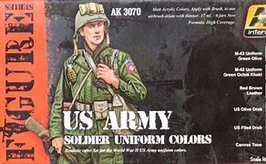 AK Interactive Figure Series US Army Soldiers Uniform Colors