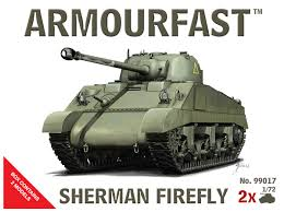 1/72 scale Military Vehicles (20mm) Sherman Firefly