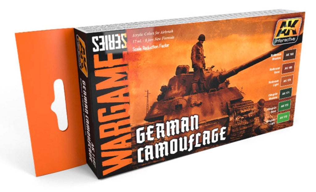 AK Interactive wargame series set German Camouflage