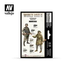 Vallejo World War2 paint set German Infantry