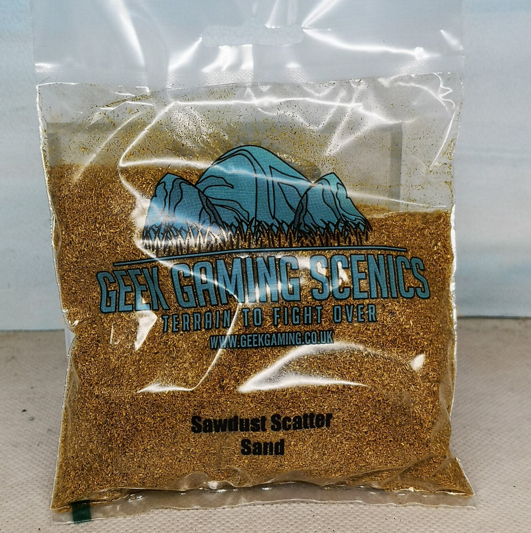 Scenic Selection Geek Gaming Sawdust Scatter Sand
