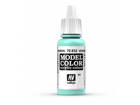 Vallejo Model Color Paints Verdigris Glaze 70,832