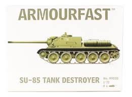 1/72 scale Military Vehicles (20mm) SU-85 Tank destroyer