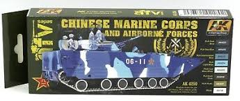 AK Interactive AFV Series Chinese marine Corps and Airbourne Forces