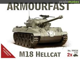 1/72 scale military vehicles (20mm) Hellcat