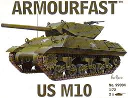 1/72 scale Military Vehicles (20mm) M10 tank destroyer