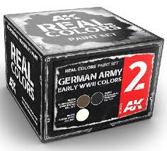 Ak Real Colours  German Army Early WWII Colours (3)