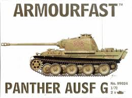 1/72 scale Military Vehicles (20mm) Panther Ausf G
