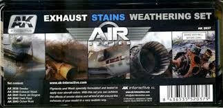 AK Interactive Weathering Sets Exhaust Stains