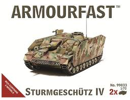 1/72 scale Military Vehicles (20mm)  Sturmgeschutz IV