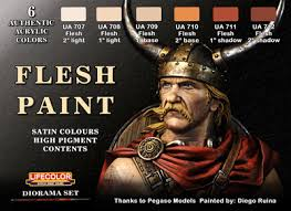 Lifecolor Paint Sets Flesh paint set