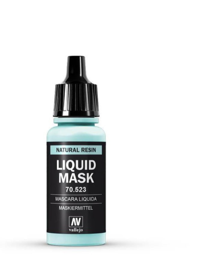 auxiliary products  Vallejo Liquid Mask