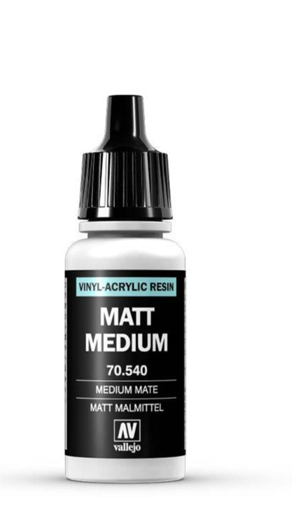 auxiliary products Vallejo Matte medium 17ml