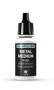 Auxiliary Products Vallejo Metal Medium 70.512 17ml
