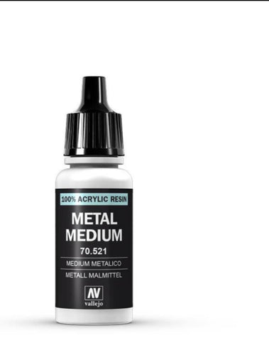 auxiliary products  Vallejo Metal Medium 17ml