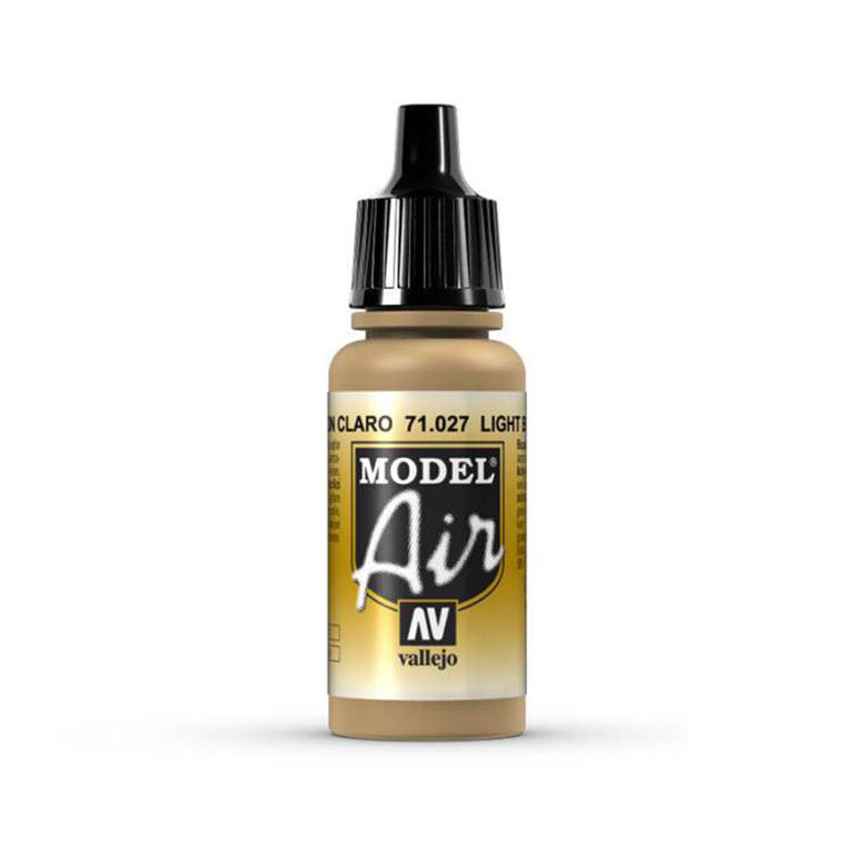 Vallejo Model Air Color Paint 71.027 Light Brown