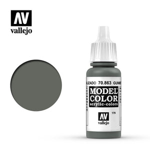 Vallejo Metallic Gunmetal grey