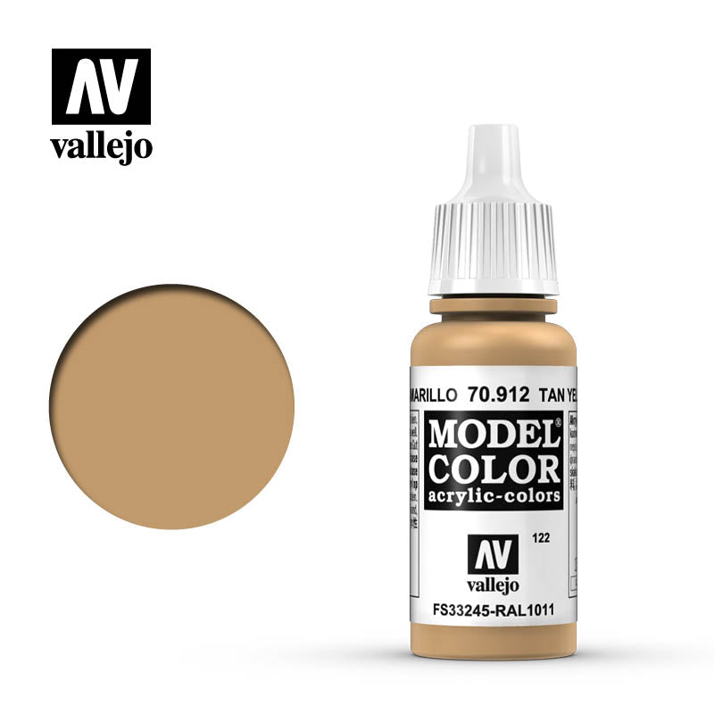 Vallejo Tan Yellow