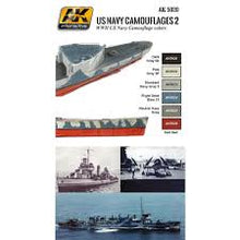 Load image into Gallery viewer, AK Interactive Naval Series US Navy Camoflages 2