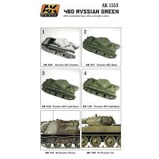 AK Interactive Wargame Series 4bo Russian Green