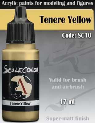 Scalecolor75 Paint Tenere Yellow Code: SC10
