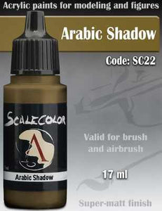 Scalecolor75 Paint Arabic Shadow Code:SC22