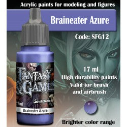 Scalecolor Fantasy and Games Paint Braineater Azure SFG12