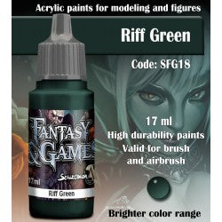 Scalecolor Fantasy and Games Paint Riff Green SFG18