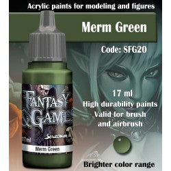 Scalecolor Fantasy and Games Paint Merm Green SFG20