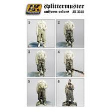 Load image into Gallery viewer, AK Interactive figure Series Splittermunster Uniform colors