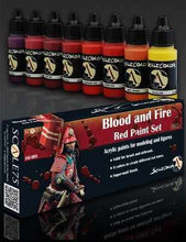 Load image into Gallery viewer, Scale75 Sets Blood and Fire Red Paint Set