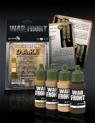 War Front Range Scale75 Uniforms of the German Africa Corps DAK set1