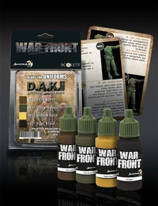 War front Range Scale75  D.A.K. Set 2  Colors for Uniforms