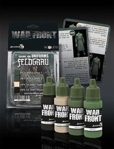 War Front Range Scale75 Feldgrau Set - Colors for Uniforms