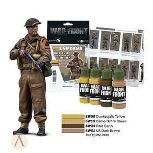 War front Range Scale75 British Commonwealth Armies