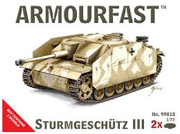 1/72 scale Military Vehicles (20mm)Sturmgeschutz III