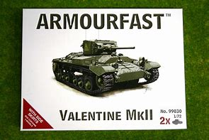 1/72 scale Military Vehicles (20mm) Valentine MkII