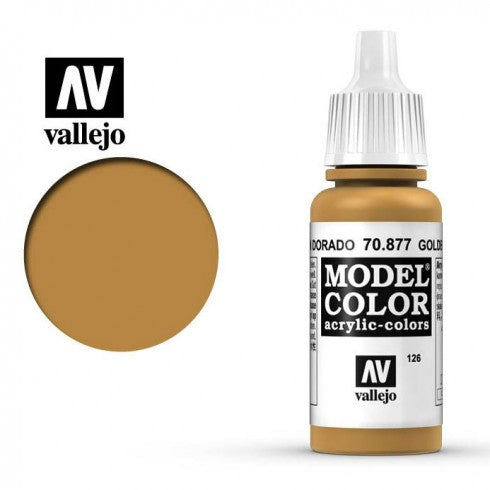 Vallejo golden brown