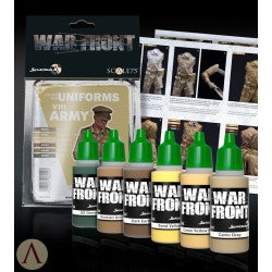 War front Range Scale75 British 8th Army set