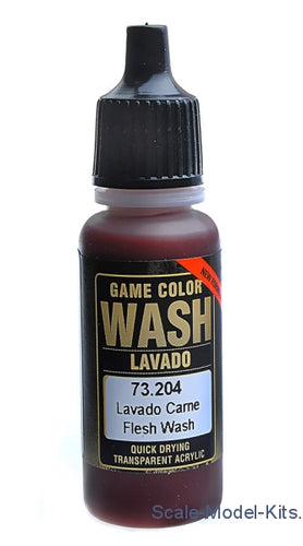 Washes/Inks Vallejo game wash flesh 17ml