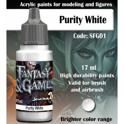 Scalecolor Fantasy and Games Paint Purity WhiteSFG01