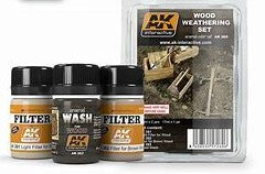 AK Interactive Weathering Sets Wood Weathering