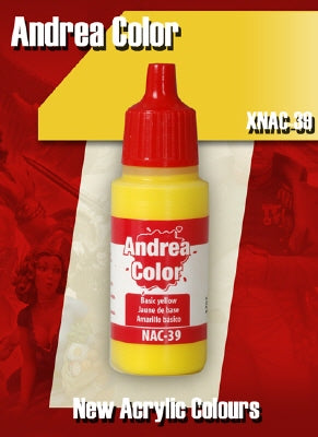 Andrea Color Basic Yellow XNAC-39