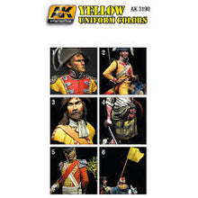Load image into Gallery viewer, AK Interactive  Figure series Yellow uniform color