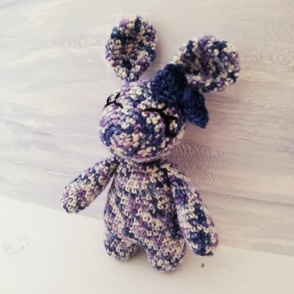 Beatrice the Bunny Hand-dyed Special Edition Crochet Kit