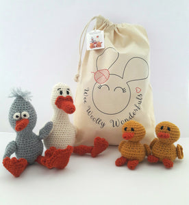 Daisy Duck & Family Crochet Kit