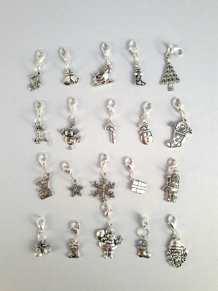 Set of 5 Christmas Stitch Markers