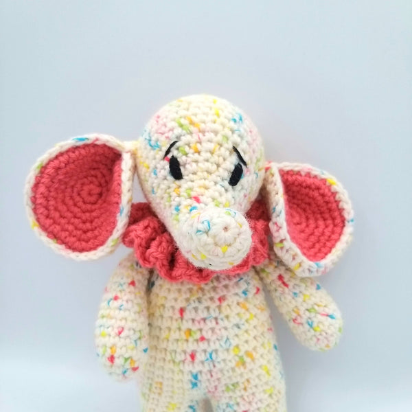 PDF Pattern - Ruffle pattern and amendments to make Special Edition Jelly Tots & Baby Dots the Elephants